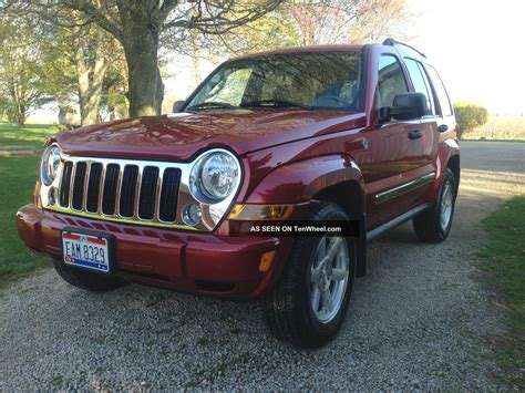 jeep limited 2006 2006 jeep liberty limited sport utility 4 door 3 7l