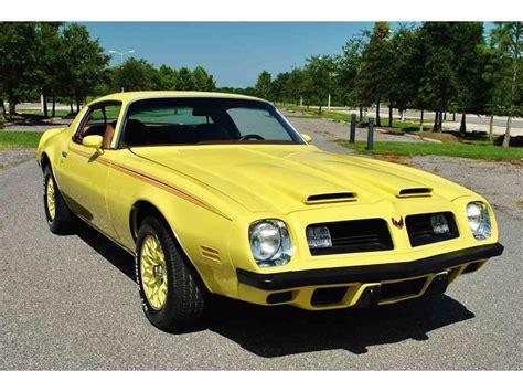 1975 Pontiac Trans Am by 1975 Pontiac Firebird For Sale Classiccars Cc 890143