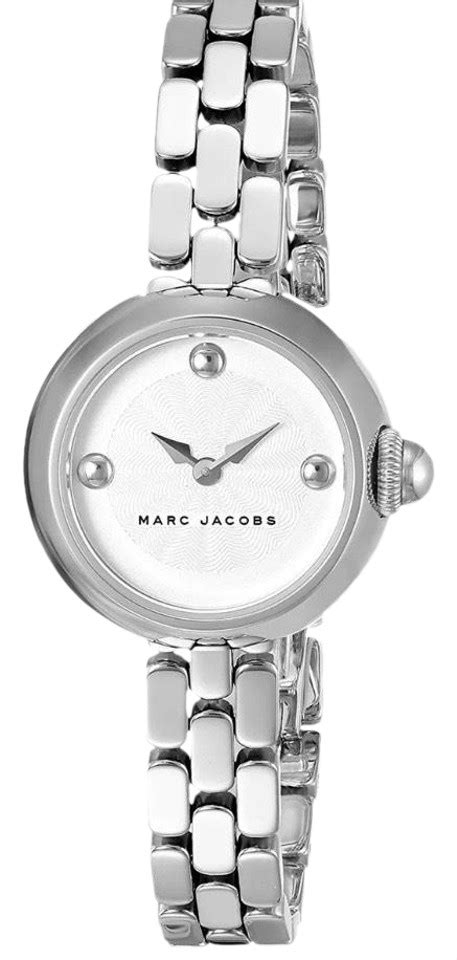 marc jacobs silver courtney  mj dial stainless