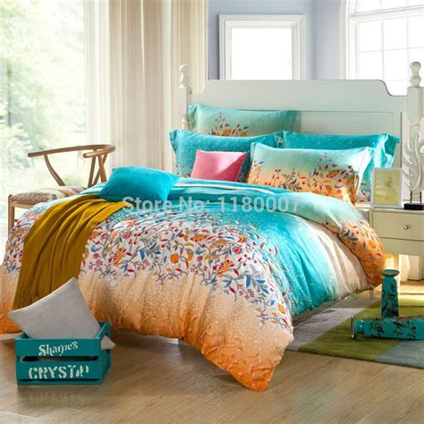 green and orange comforter sets 35 best images about bedding duvet cover set without