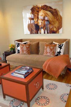 yellow sofa dark pillows dark rug grey cabinet and black set of 3 damask orange dark brown and otter designer