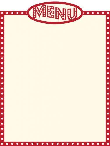 menu clip art clipartfest clipartix