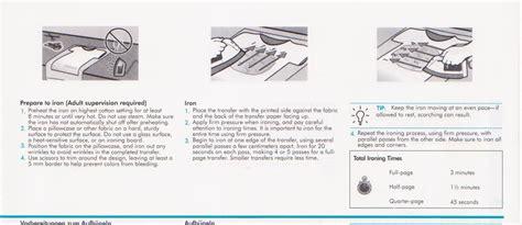 hp printer iron on transfer paper 12 sheets hp t shirt iron on inkjet heat transfer paper ebay