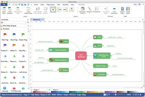 visio mind map template mind map visio alternative for mac