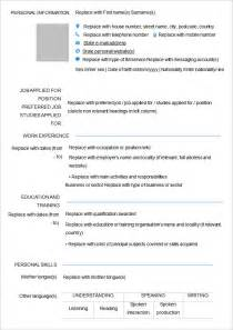 free blank resume templates for microsoft word doc 12751650 free fill in resume template blank resume
