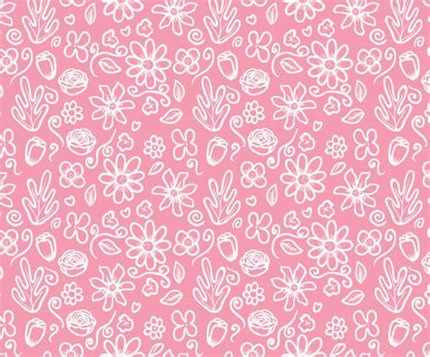 pattern flower pink free seamless pink flower pattern vector titanui