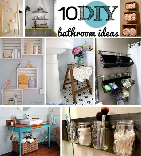 diy bathroom design 10 diy bathroom ideas