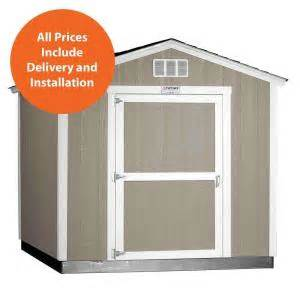 Home Depot Sheds Tuff Shed Installed Tahoe 8 Ft X 10 Ft X 8 Ft 6 In