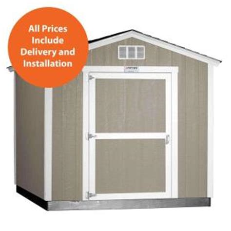 Home Depot Installed Sheds by Tuff Shed Installed Tahoe 8 Ft X 10 Ft X 8 Ft 6 In