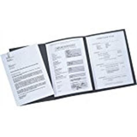 Bewerbung Mappe Exacompta Bewerbungsmappe 3 Teilig Mit 2 Klemmschienen Und