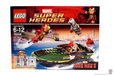 lego iron sea battle 76006 iron 3 extremis sea battle review the