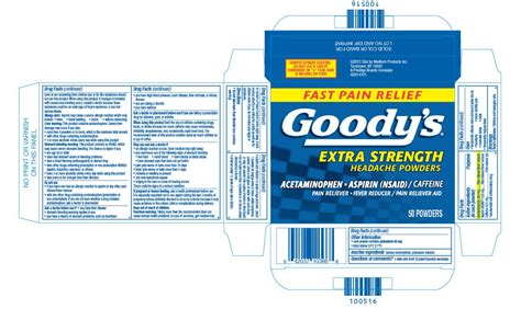 goody com goodys extra strength powder medtech products inc