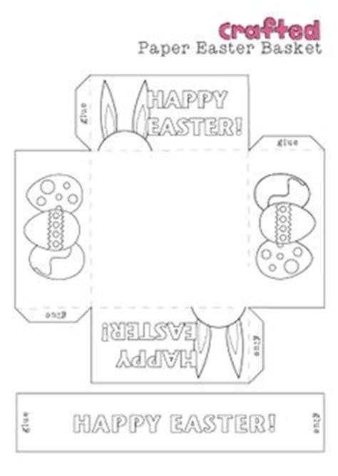 Origami Easter Basket Printable