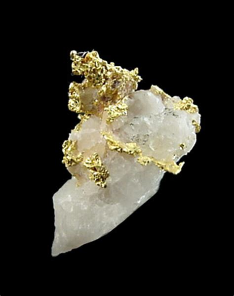 Size 19x12x9 photographs of mineral no 13898 gold in quartz from 813