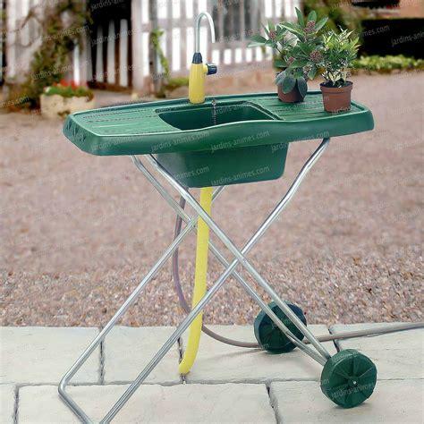 Evier Jardin evier d ext 233 rieur de jardin mobile mobilier de jardin