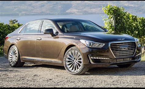genesis luxury car hyundai genesis luxury cars available in canada without