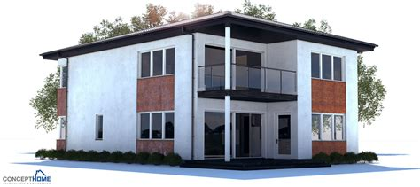 new house plans 2013 modern house ch177 to narrow lot with open and efficient