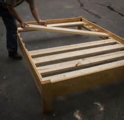 Diy Platform Bed With Slats 25 Best Ideas About Size Platform Bed On