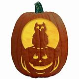 Owl Pumpkin Stencils | 500 x 500 jpeg 25kB