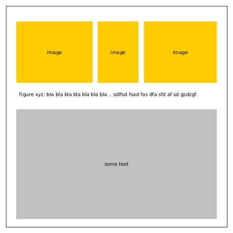 layout height graphics different aspect ratio images full width same