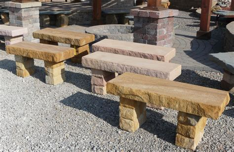 natural stone benches lones stone landscape supply natural stone benches