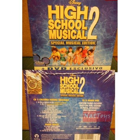 High School Musical Cd Original high school musical 2 special musical edition dvd nuovo