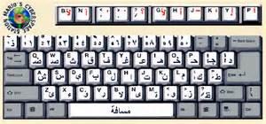Printable Alphabet Letters Mario Profaca Mario S Cyberspace Station Arabic Keyboard