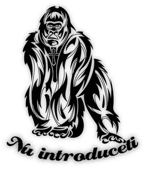 tribal gorilla tattoo tribal gorilla tattoos search arts