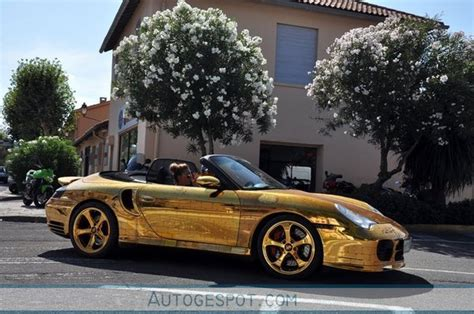 Goldener Porsche by Golden Porsche 996 Turbo Rides Again Car News Top Speed