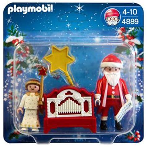 maison du pere noel playmobil playmobil 4889 pere noel et petit ange playmobil