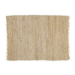 lodge cotton and jute woven rug 200 x 300cm maisons du monde