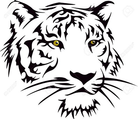 tribal tattoo tiger tribal tiger clipart collection