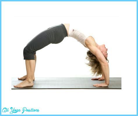 upward bow pose upward bow wheel pose yoga allyogapositions