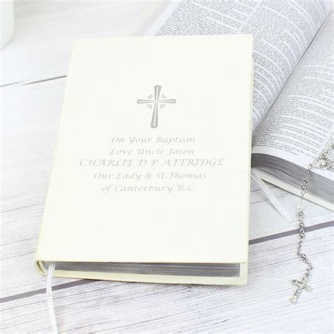holy bible personalised christening baptism confirmation