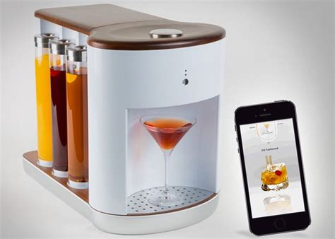 home cocktail somabar robotic bartender mixes the cocktail