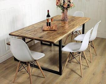 Kitchen Table Sale Uk by Rustic Dining Table Etsy