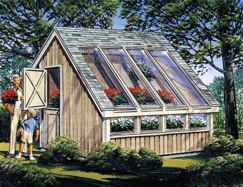 Greenhouse Shed Plans by Garden Shed Project Plan 85907