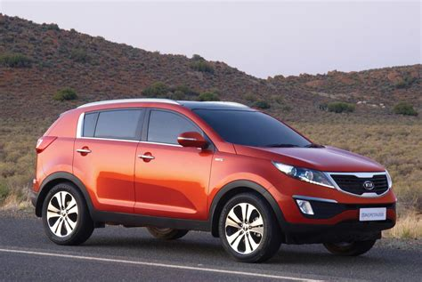 Kia Sportage Lifier 2011 Kia Sportage For South Africa Large Gallery Included