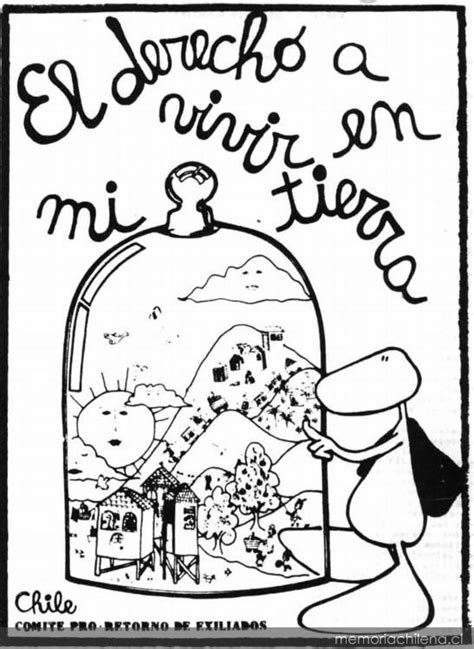 El derecho a vivir en mi tierra - Memoria Chilena