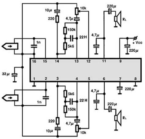 audio ic electronic circuits tv schematics audio