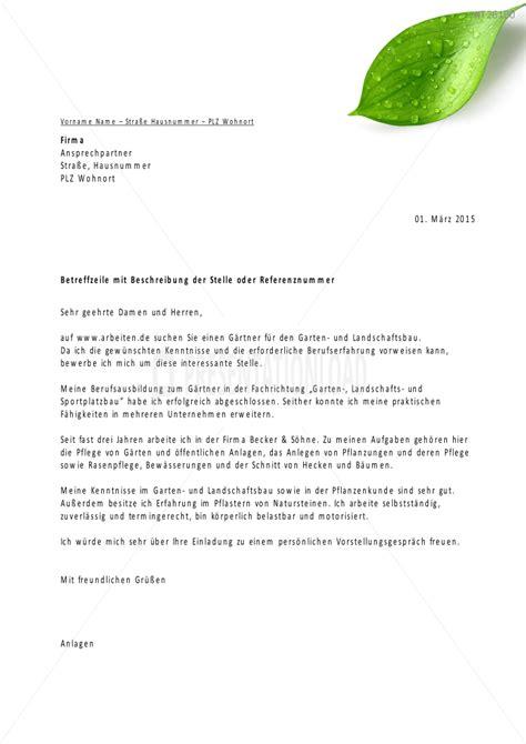 Bewerbungsschreiben G Rtner niedlich gartenbau lebenslauf vorlage zeitgen 246 ssisch