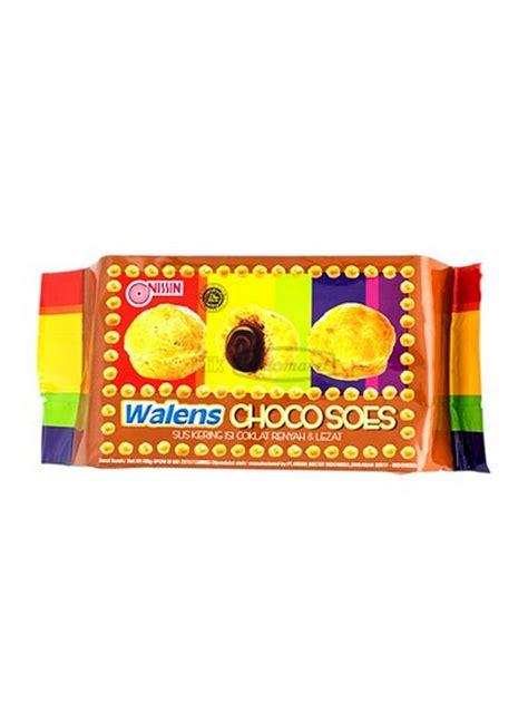 Nissin Walens Soes Blueberry 100g nissin walens choco soes pck 100g klikindomaret