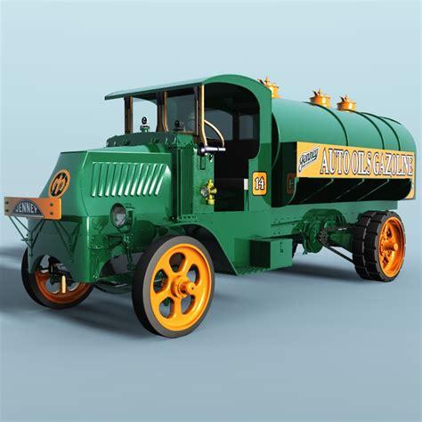 Ac Truk mack ac 1926 tank truck for vue 3d models 3dclassics