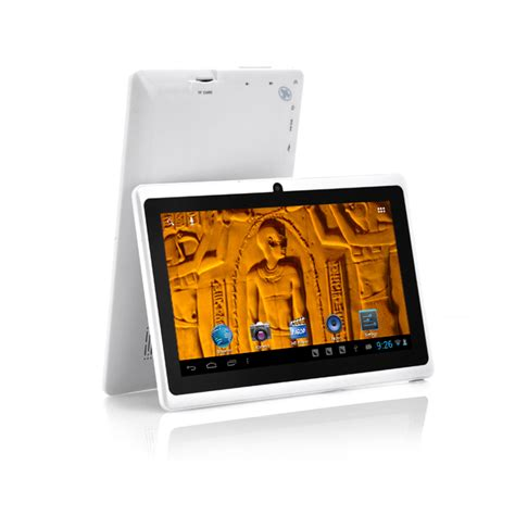 android 7 inch tablet horus 7 inch android 4 1 tablet white 1ghz cpu wifi front 4gb tyf 7451 white
