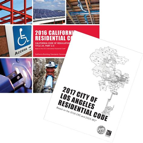 City Of Los Angeles Plumbing Code by 2017 City Of Los Angeles Residential Code Complete