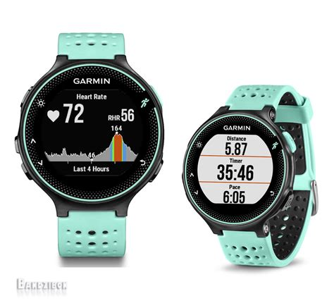 Garmin Fr 235 Blue garmin forerunner fr235 gps sports running wrist rate monitor blue ebay