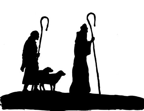 Silhouette Clip Free by Nativity Silhouette Free Silhouette Clipart