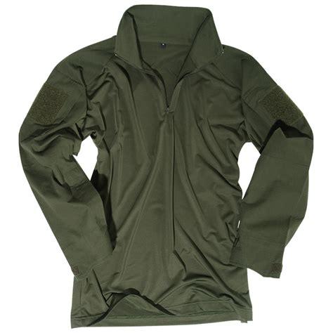 Combat Shirt Green Olive tactical patrol airsoft ubacs combat shirt