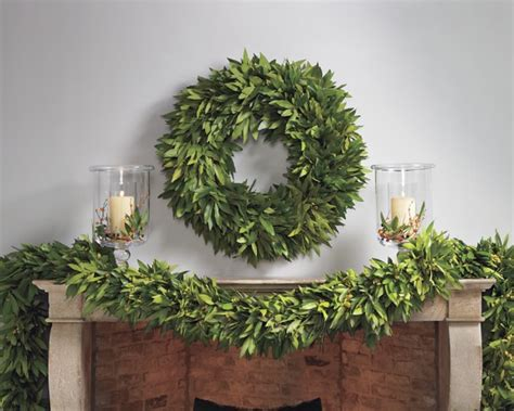 Bayleaf Wreath Bay Leaf Wreath Williams Sonoma