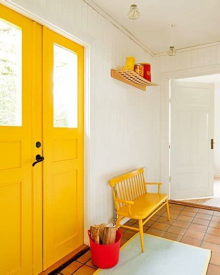 bright yellow paint colors for your home